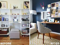 homepolish style girlfriend home office makeover office redo