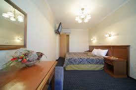 King Size Bed Hotel Oktyabrskaya Hotel Ekaterinburg Russia Online Booking