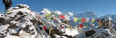 Prayer Flags File Nepal Sagamartha Trek Cho Oyu And Prayer Flags From Gokyo