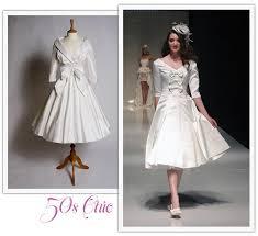 50 s style wedding dresses tea length wedding dresses tea length bridal gown 50s style