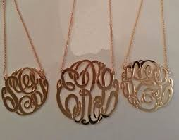 Monogramed Jewelry Be Monogrammed Gold Monogram Necklace Monogrammed Necklace