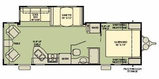 Fleetwood Wilderness Travel Trailer Floor Plans Full Specs For 2008 Fleetwood Wilderness 260rls Rvs Rvusa Com