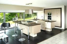cuisine deco design cuisine design ilot central idées décoration intérieure