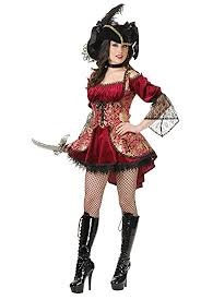 Exotic Halloween Costumes Lady Pirate Costumes Deluxe Theatrical Quality Costumes