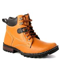 buy boots snapdeal skylark lifestyle synthetic leather boots buy skylark