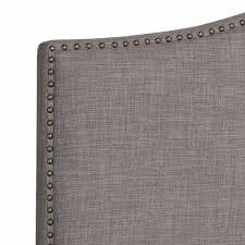 Grey Upholstered Headboard Upholstered Headboard Fabulous Tufted Wingback Upholstered
