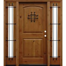 Home Depot 2 Panel Interior Doors by Pacific Entries 36 In X 96 In Rustic 2 Panel Stained Knotty