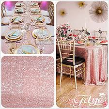 pink table l amazon com 12 x108 blush pink sequin table runner sequin table