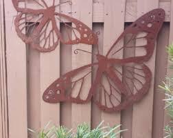 Outdoor metal art