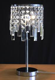 Crystal Table Lamps Crystal Table Lamps For Bedroom Gallery Including Royal Velveta