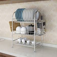 Kitchen Dish Rack Ideas Racks Ideas Dish Rack Stainless Steel Fresh Kuanguang Kitchen