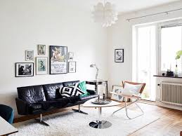 mid century modern living room ideas black and white interior design ideas for living room