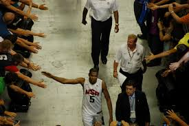 file kevin durant on the way to the locker room in barcelona jpg