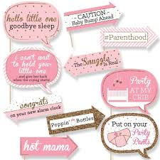 amazon com funny pink and gold hello little one baby