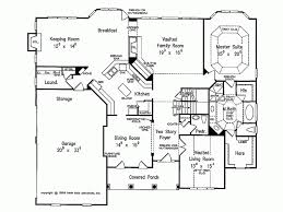 new american floor plans eplans new american house plan country aura 3728 square