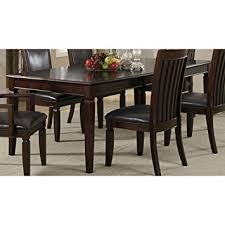 Coaster Dining Room Sets Amazon Com Coaster Ramona Dining Table Walnut Tables