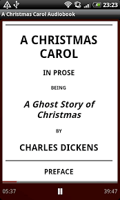 a carol audiobook android apps on play