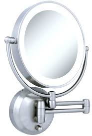 conair lighted vanity mirror lighted makeup mirror wall mount superb conair double sided battery