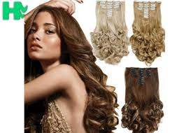 synthetic hair extensions synthetic clip in hair extensions on sales quality synthetic