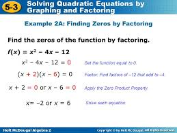 solving quadratic equations by factoring worksheet answers the