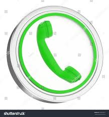phone icon 3d green phone icon button stock illustration 253818973 shutterstock