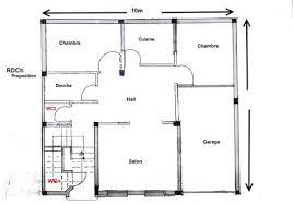 plan d une chambre plan d une maison marocaine 3 80m2 systembase co