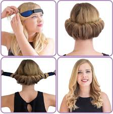 great gatsby hair long glamwaves large hair roller head band for medium to long length