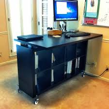 Diy Stand Up Desk Ikea Best 25 Standing Desks Ideas On Pinterest Diy Desk Pertaining To