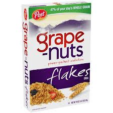 Breakfast Food Cereal Walmart Com by Grape Nuts Flakes Cereal 18 Oz Walmart Com