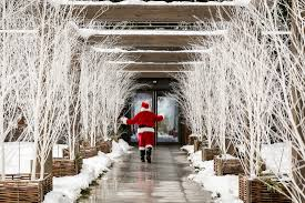 mirtillo rosso italy s first christmas hotel decorated in contemporary alpine style and neutral colors its stylish rooms feature striking wall murals depicting mountain backdrops and wintery