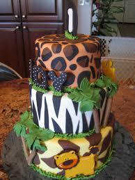 safari cake toppers jungle cakes decoration ideas birthday cakes