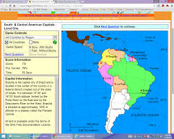 Map Of Latin America With Capitals by Visiting South America Rolling Terrace Global Tigers