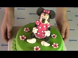 minnie mouse cake dort s figurkou minnie youtube