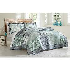 Cannon Bedding Sets Cannon 3 Quilted Bedding Set Floral Print Rocket Room