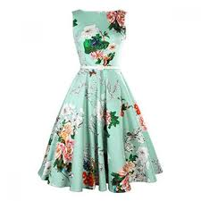 rochii vintage rochie vintage cu imprimeu floral strangere cu curea la mijloc
