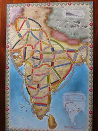 Bhopal India Map by Mark U0027s Wargaming And Boardgaming Blog Ticket To Ride Expansion