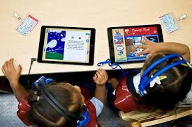reading software for elementary students santa unified students step up to 1 million word reading