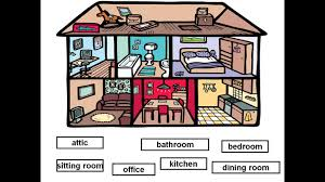 rooms in the house rooms in a house homes and houses speech therapy pinterest