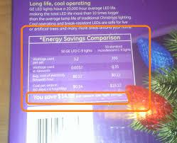 ge led christmas lights christmas light energy cost christmas ideas
