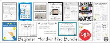 beginner handwriting collection your therapy source