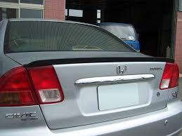 2005 honda civic trunk for honda civic 7th generation es1 01 05 sedan trunk lip spoiler
