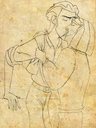 migulio kiss sketch by lorazoronicktrance on deviantart