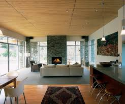 window on either side family room contemporary with eat in kitchen