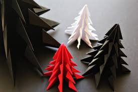 diy origami christmas tree minimal crafts