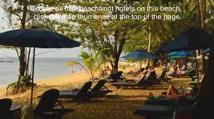 nangthong beach resort khao lak true beachfront com youtube