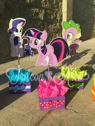my little pony centerpieces great for birthday parties diy