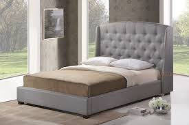 bed king size bed headboard upholstered bedheads grey headboard