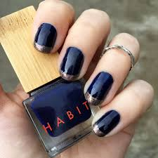 nails of the day habit u0027s u0027deep sea u0027 vegan beauty review vegan