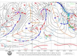 Weather Fronts Map Oahu Weather