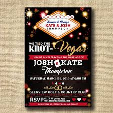 vegas wedding invitations destination wedding invitation post destination wedding reception